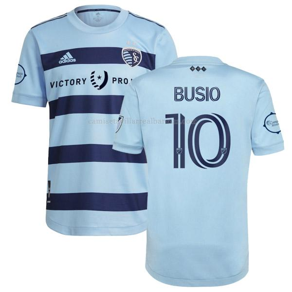 camiseta busio del sporting kansas city del 1ª equipación 2021-2022