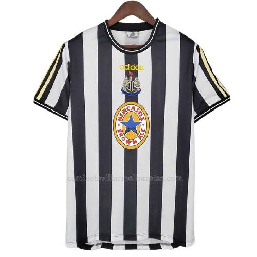 camiseta retro del newcastle united del 1ª equipación 1997-1999